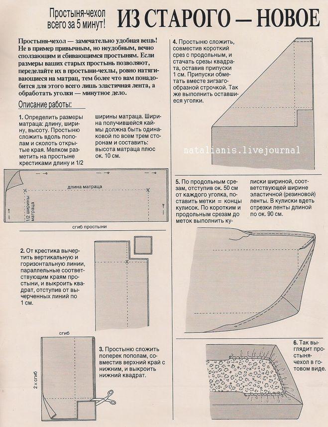 Как сшить простынь на резинке 160х200 своими руками