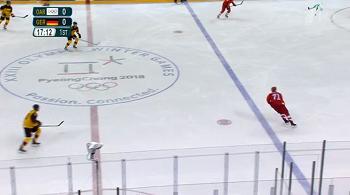 Олимпиада в Пхенчхауне хоккей между игроками России и Германии