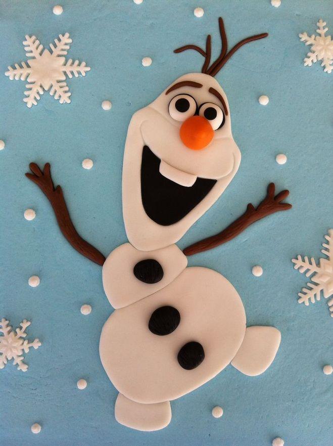 Холодное сердце снеговик мастер класс