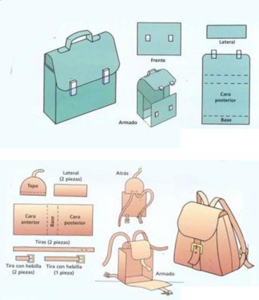 Как сшить портфель  для куклы
