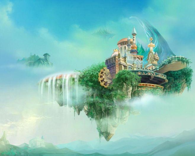 картинка рай