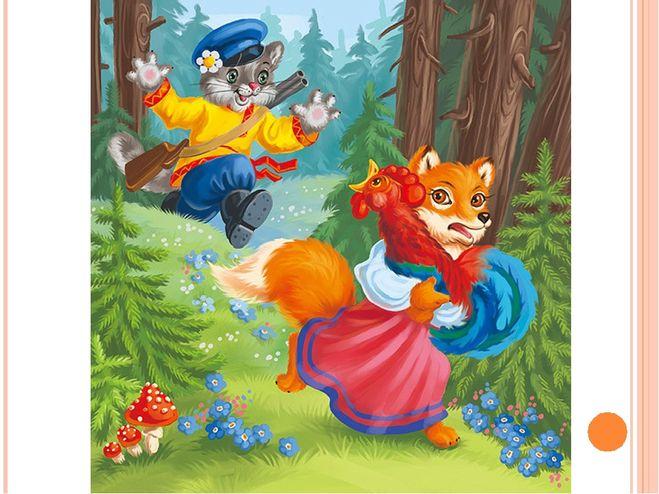Краткое содержание сказки кот петух и лиса