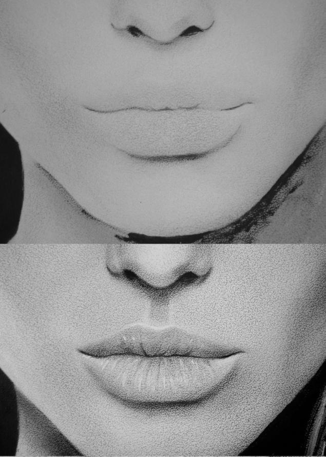 как нарисовать Анджелину Джоли3