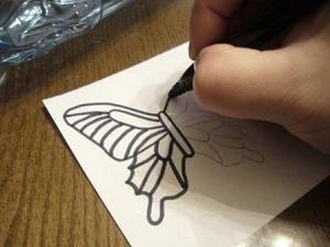 Как сделать бабочку для сада своими руками