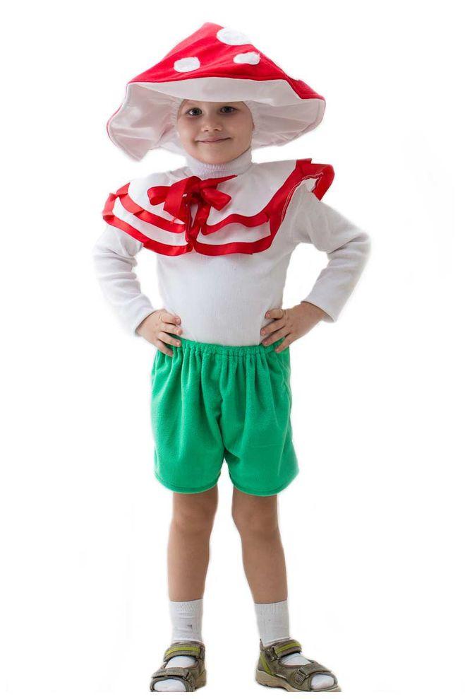 Как сделать ребенку шляпку гриба
