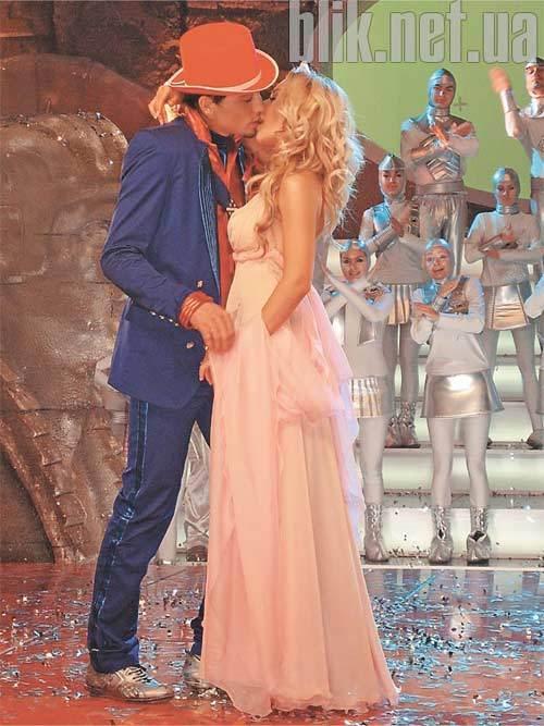 поцелуй во время знакомства