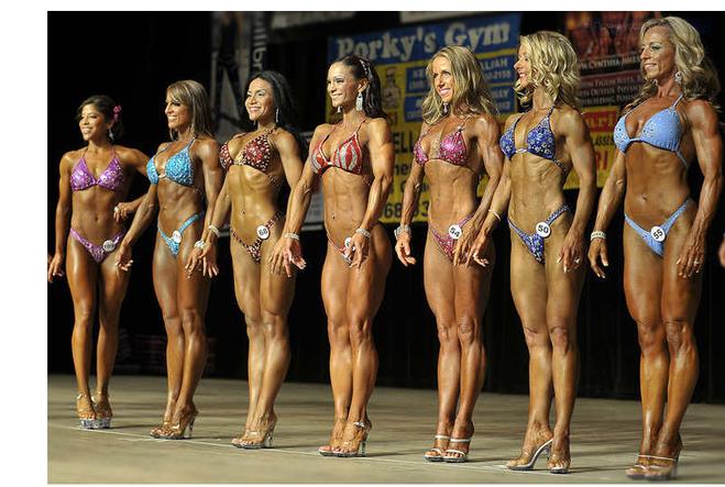 В чём разница между фитнес бикини и бодибилдингом