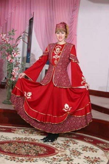 Женская Национальная Татарская Одежда