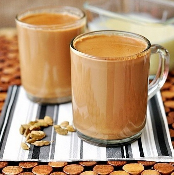 Чай с молокомы приготовления