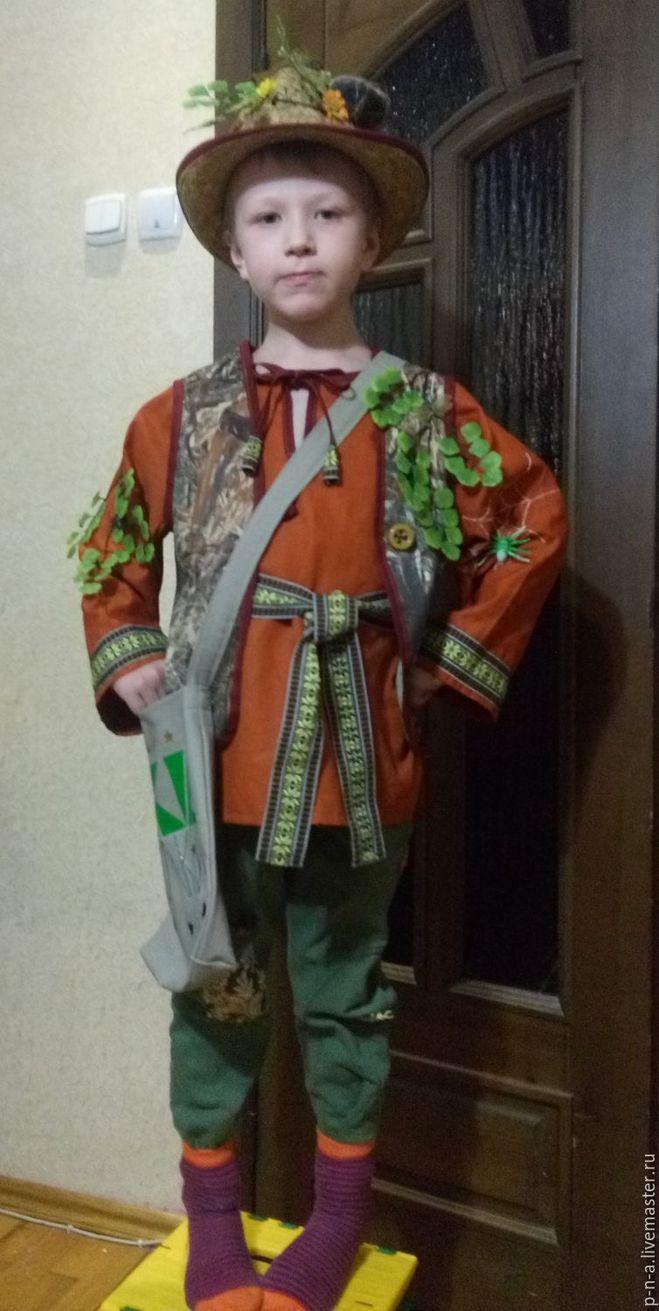 Как сделать костюм лесовичка