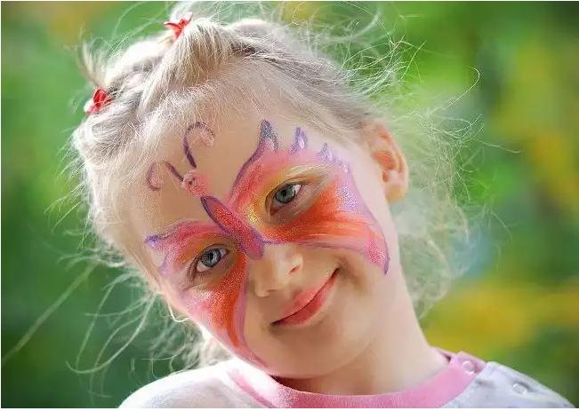 Как сделать макияж на хэллоуин в домашних условиях для детей