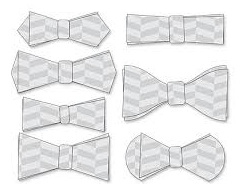Шаблоны для галстука-бабочки