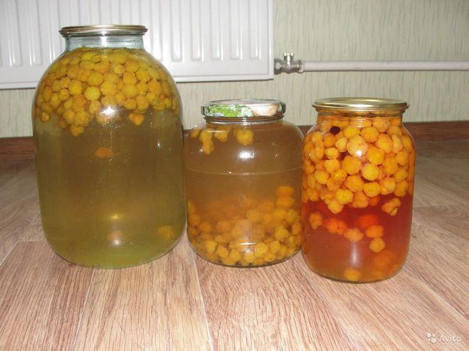 морошка рецепты компот