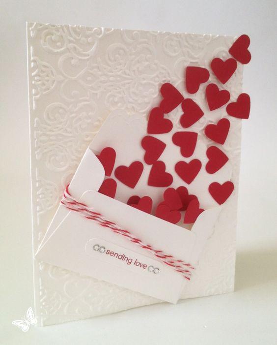 Love открытка своими руками 1