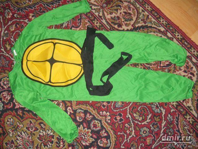 Как сшить костюм ниндзя черепашки своими руками 25