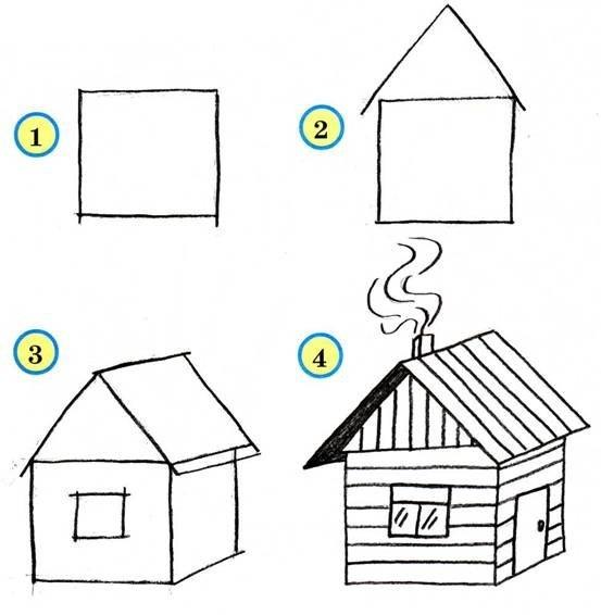 Схема для домика для детей