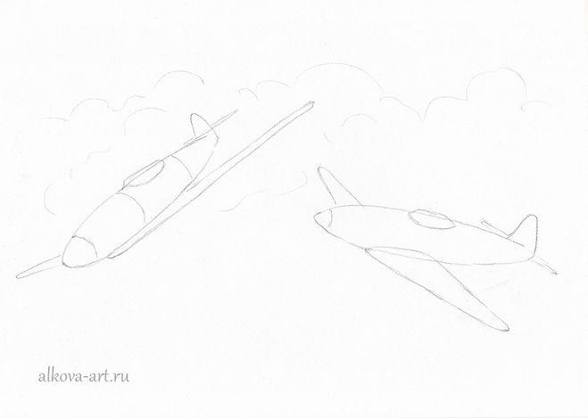 рисунок о войне