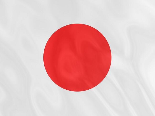 Какого цвета нет на флаге японии