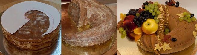 Торт рог изобилия рецепт фото