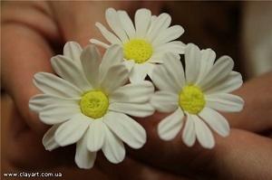 Цветки из полимерной глины своими руками