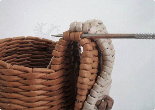 собака-коробка из газетных трубочек своими руками мастер-класс