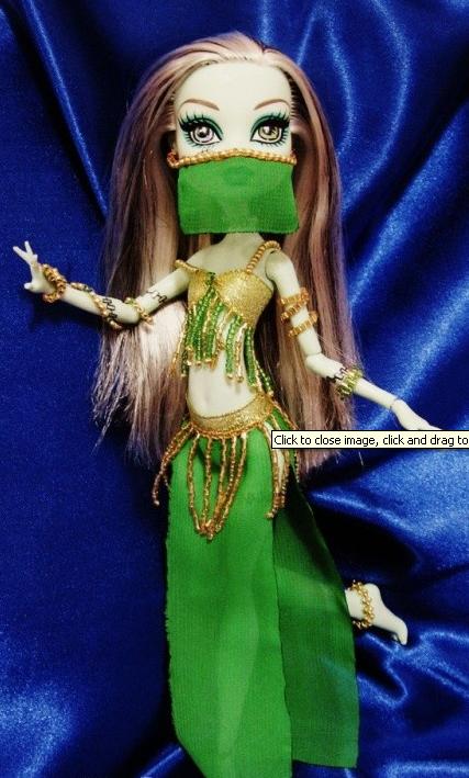 Платье для куклы монстер хай