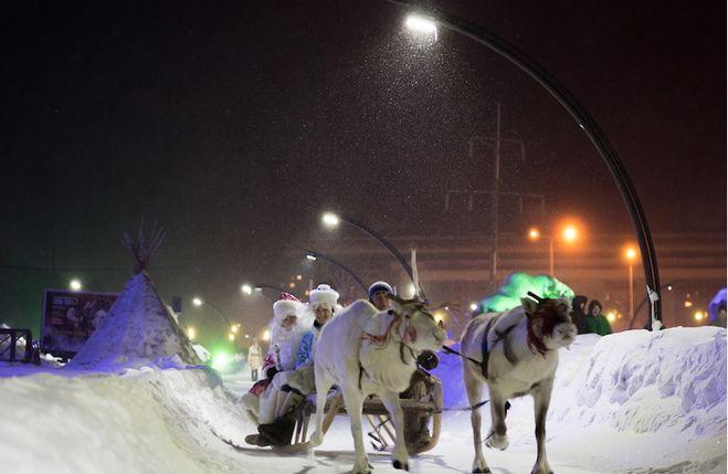 Какой город выбран новогодней столицей России 2017 и почему?