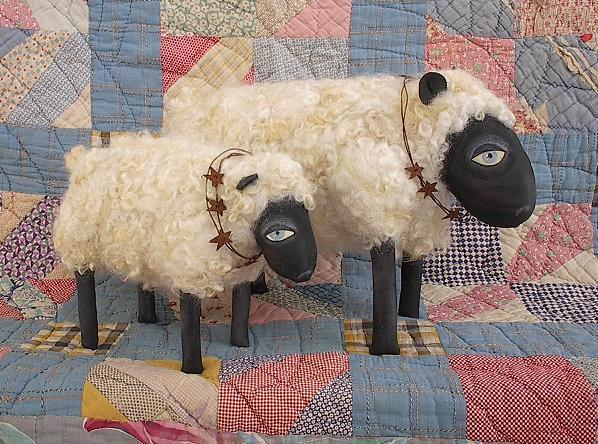 Большая овечка своими руками