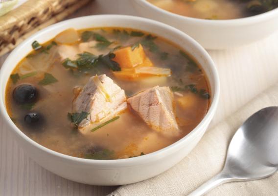 Суп уха из головы горбуши рецепт