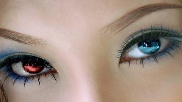 Human chimera eyes