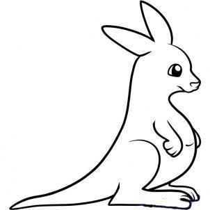 Как нарисовать кенгуренку