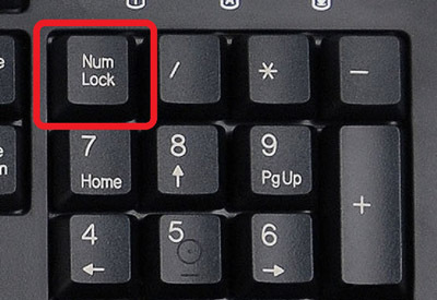 Как сделать так чтобы num lock включался автоматически 493