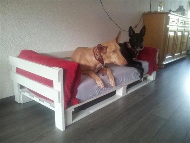 Кровать собачке своими руками