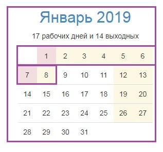 январь 2019