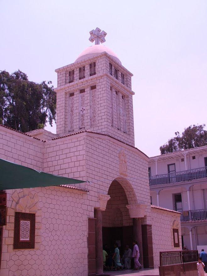 текст при наведении - церковь Св. Марии, Бени-Суэйф