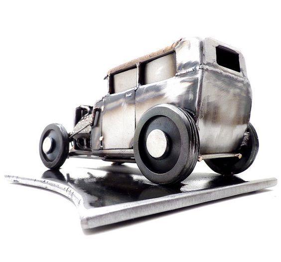 Машинка из металла своими руками 34