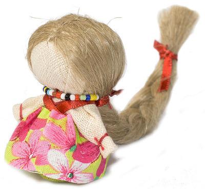Из чего делают волосы. куклам тильды