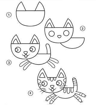 """Как нарисовать рисунок на произведение К.Паустовского """"Кот Ворюга"""""""
