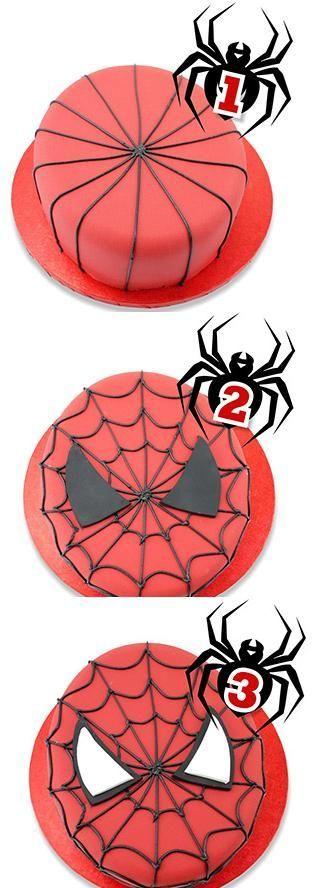 Как сделать паук для торта 51