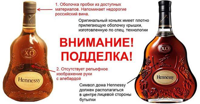 fb45b0342451 Как отличить настоящий Хеннесси от подделки