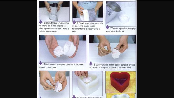 Видео как сделать свечи в домашних условиях своими руками
