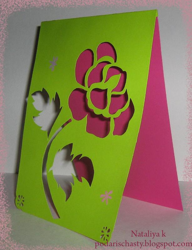 Бабочки в раскладных открытках 76