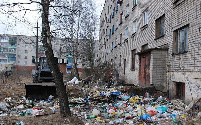 как заставить жителей выбрасить строительный мусор что первой