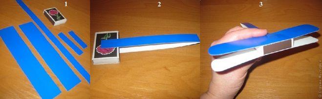 Как сделать самолет из коробка своими руками