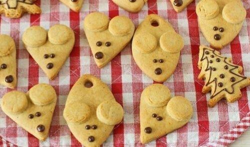 Печенье мышь