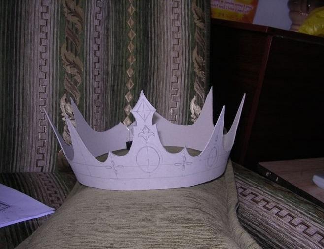 Из чего сделать корону для принцессы своими руками