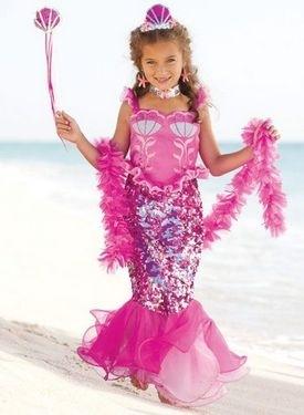 Сделать костюм русалки для девочки в домашних условиях