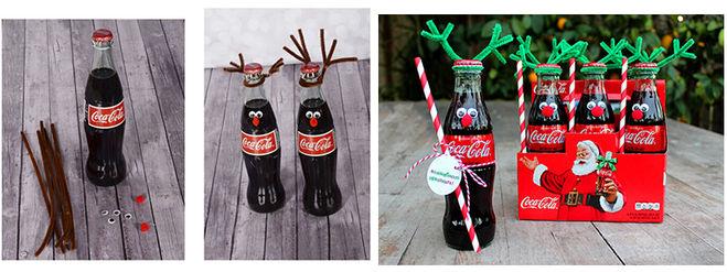 олень из бутылки кока-колы своими руками