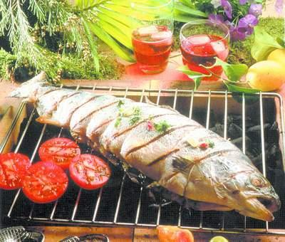 Как замариновать рыбу для барбекю видео барбекю гриль садовая дачная