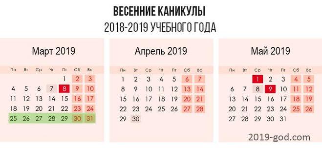 Каникулы 2019 у первоклассников новые фото